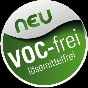 Lösemittel und VOC-frei!